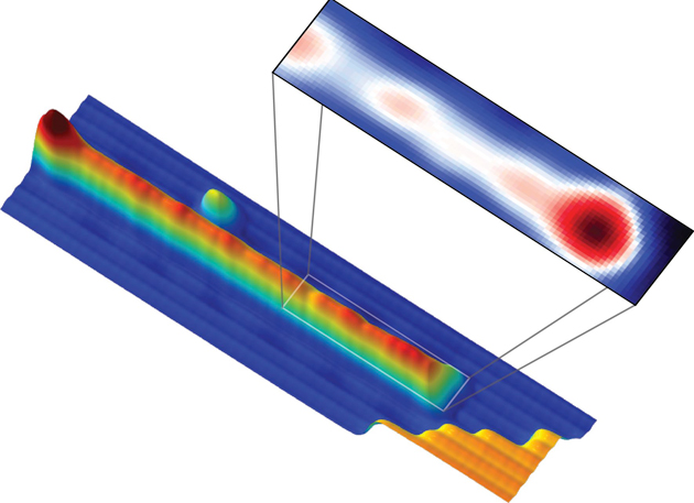 Image of the potential Majorana particle
