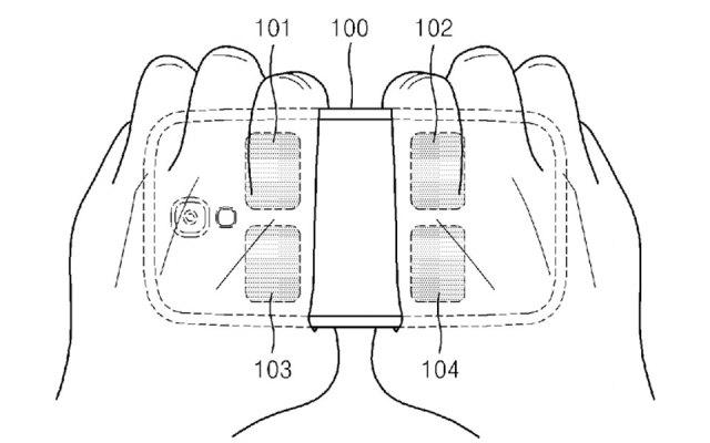 Samsung's body fat measurement patent