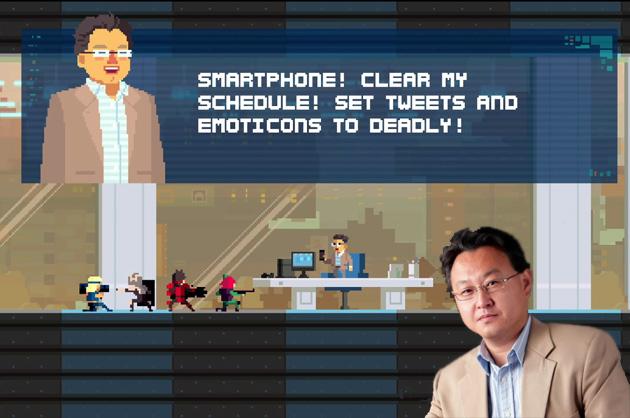 Il dirigente di PlayStation si trasforma in in carattere giocabile del gioco