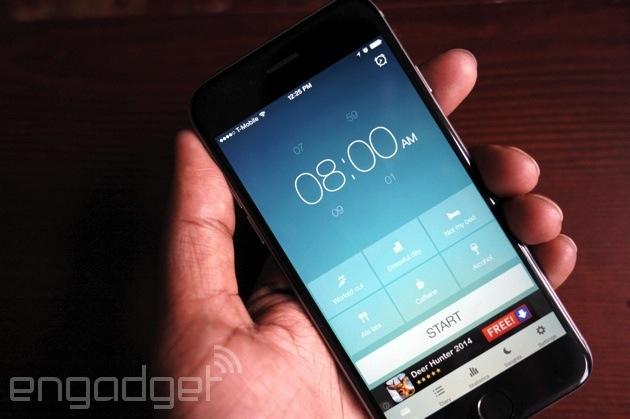 Il sonno migliore app di Runtastic tende al resto di una buona notte