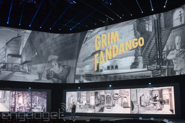 Grim Fandango announcement for PS4 and PS Vita