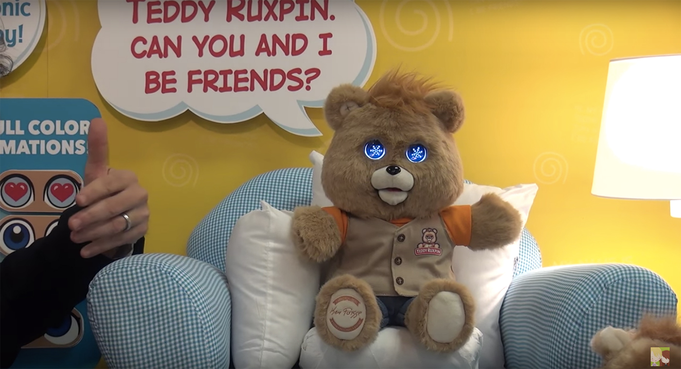 Teddy Ruxpin, 2017 version