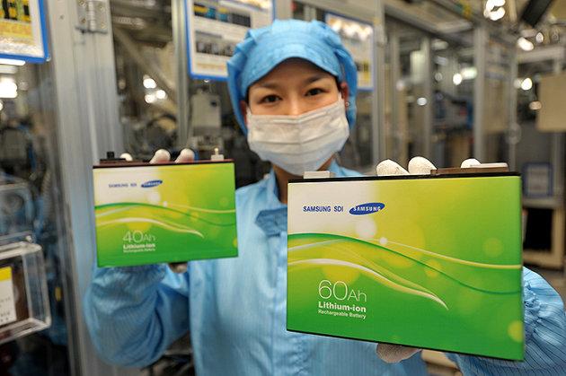 Samsung compra el fabricante de baterías para autos Magna Steyr