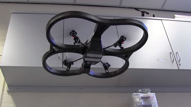 University of Sheffield's environment-sensing drone
