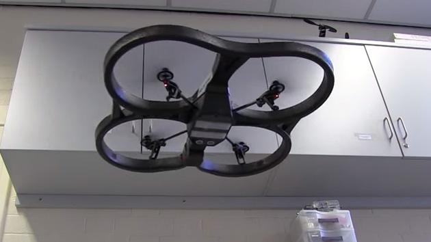 University of Sheffield's environment-sensing drone