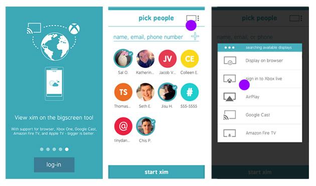 Il Xim app di Microsoft ora vi lascia dividere le foto dello smartphone sui più grandi schermi