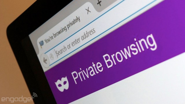 Private browsing in Firefox