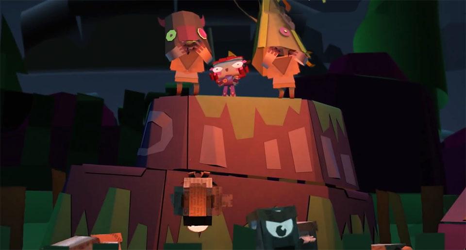 Il Tearaway spiegato arriva adorabile a PS4 l8 settembre