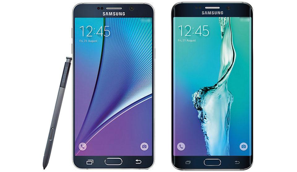 Galaxy Note 5 y S6 Edge+