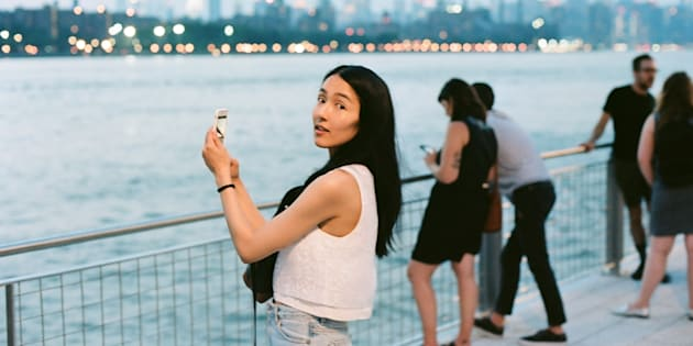 何度見ても写真に収めたくなるマンハッタン・スカイライン。