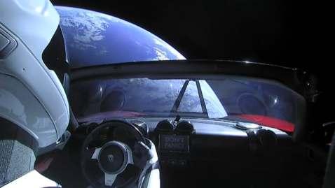 La Tesla Roadster di Elon Musk