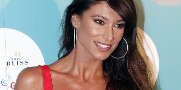 La presentadora Sonia Ferrer durante el Universal Music Festival 2017.