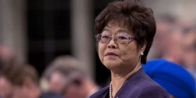 Conservative MP Alice Wong responds to a question during Question Period in the House of Commons in Ottawa on March 13, 2012.