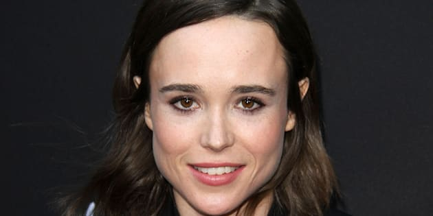La actriz Ellen Page.