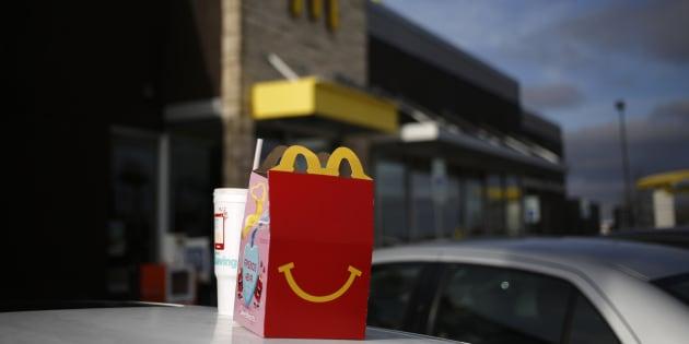 McDonald's France réfléchit à supprimer le cheeseburger du Happy Meal
