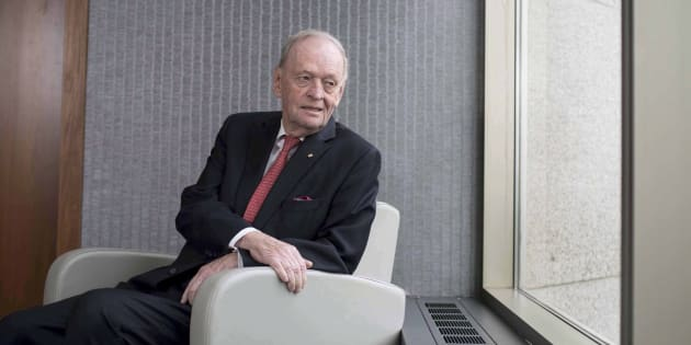 Former prime minister Jean Chretien is seen in Ottawa on March 7, 2017.