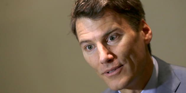 Vancouver Mayor Gregor Robertson speaks during an interview with Reuters as he attends at the C40 Mayors Summit at a hotel in Mexico City on Nov. 30, 2016.