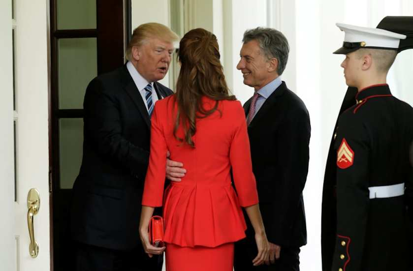 """Képtalálat a következőre: """"trump and argentina president"""""""