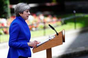 Image result for UK's Theresa May forms minority government