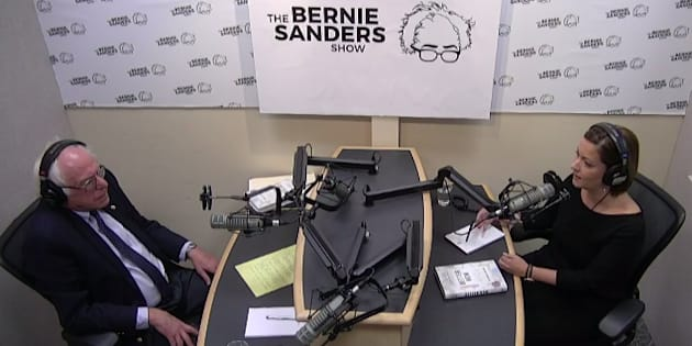Canadian doctor Danielle Martin spoke with U.S. Sen. Bernie Sanders on his radio show Thursday.