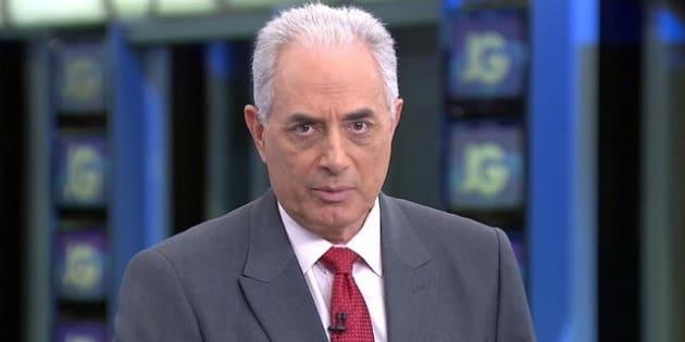 William Waack defende legado e nega ser racista em artigo na Folha.
