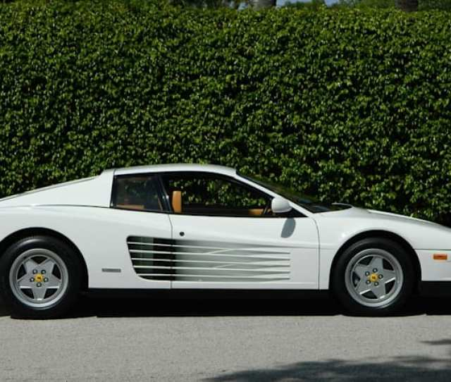 The Real Wolf Of Wall Streets Ferrari Testarossa Is For Sale