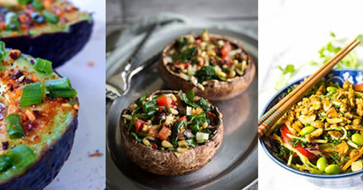 Raw Vegan Recipes: 15 Easy And Healthy Lunch Ideas