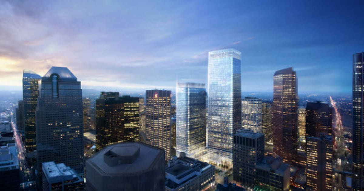 225 Sixth Skyscraper Planned Tower Will Eclipse The Bow