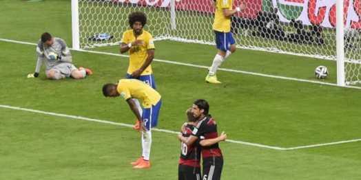 「ブラジル 歴史的大敗」の画像検索結果