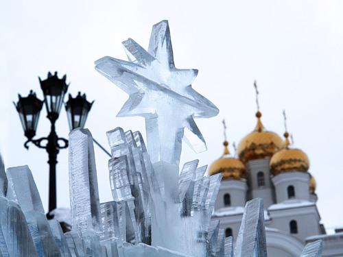 Международный Рождественский фестиваль ледовой скульптуры «Вифлеемская звезда»