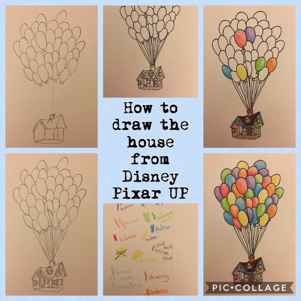 How To Draw The House From Disney Pixar Up Diagram Quizlet