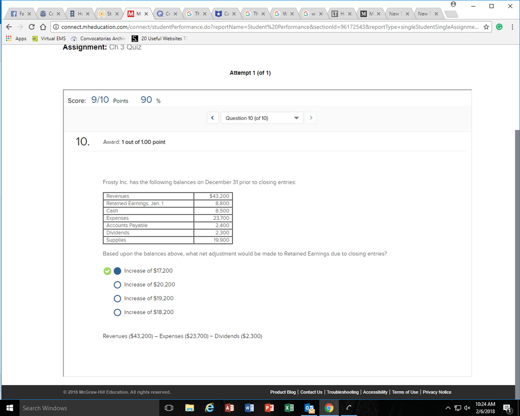 Balance Sheet Equation Quizlet