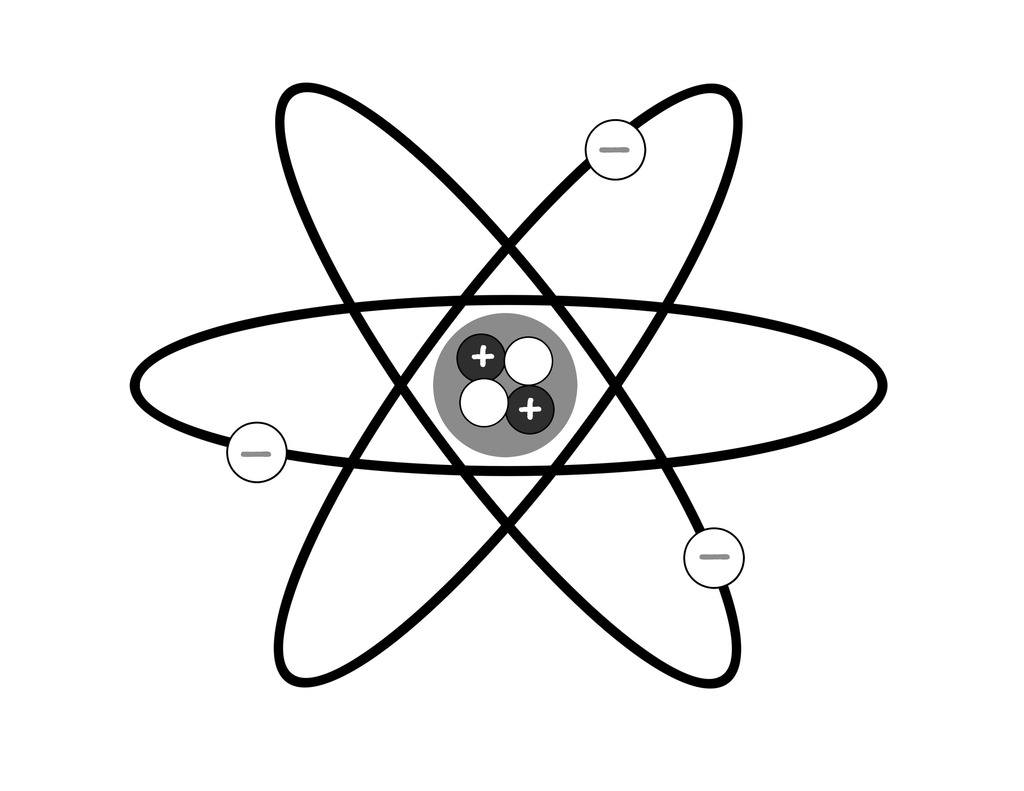 Diagram Of An Atom With Labels
