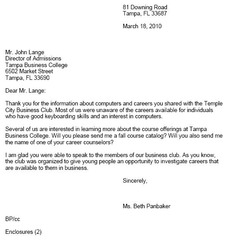 business letter quizlet resume cover letter examples healthcare