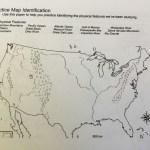 Physical Map Mountsins Diagram Quizlet