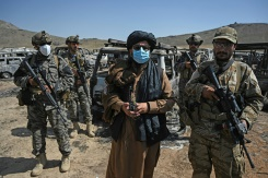 """10:21 am – """"Advance see, they destroyed the whole lot"""": a """"Taliban tower"""" within the ruins of the CIA"""