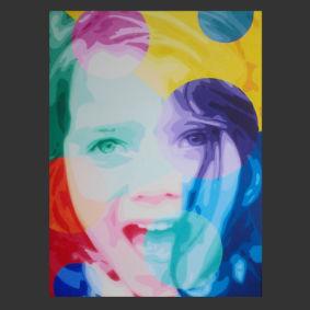 peinture repréentant un portrai