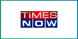 Times Now Media logo - O2 Cure Air purifiers