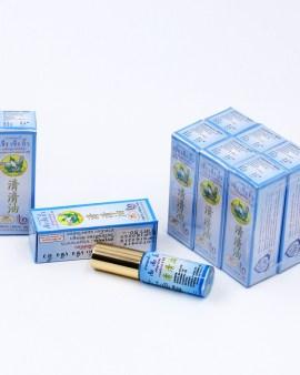 【正品泰國清心油清清油5ml桉味草藥油】