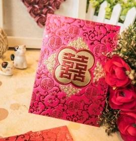 【中式婚禮-禮金利是封】