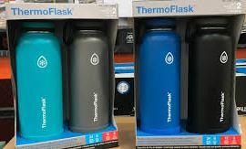 【🇺🇸美國進口 Thermo Flask不鏽鋼保溫杯(2個/set)】