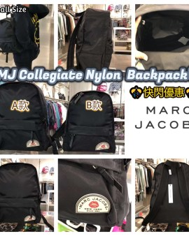 【Marc Jacobs Collegiate Nylon Backpack】