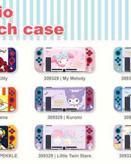 【🇹🇼台灣正版Sanrio Nintendo Switch 保護殻】
