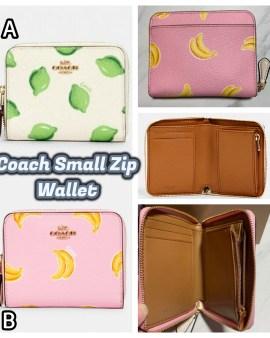 【Coach Small Zip Wallet】