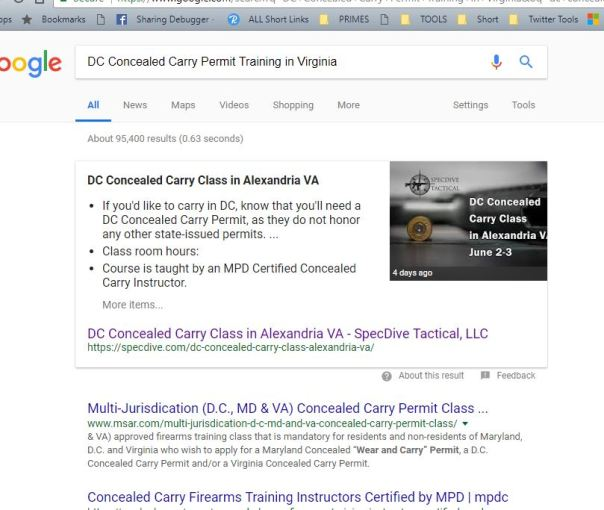 Small Business SEO Tactics to Improve Search Rankings - Concealed carry training
