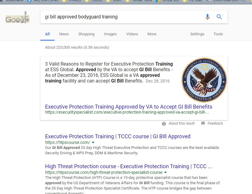 Small Business SEO Tactics to Improve Search Rankings - bodyguard training