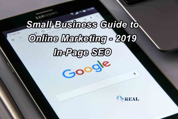 Small Business Guide to Online Marketing - 2019 In Page SEO