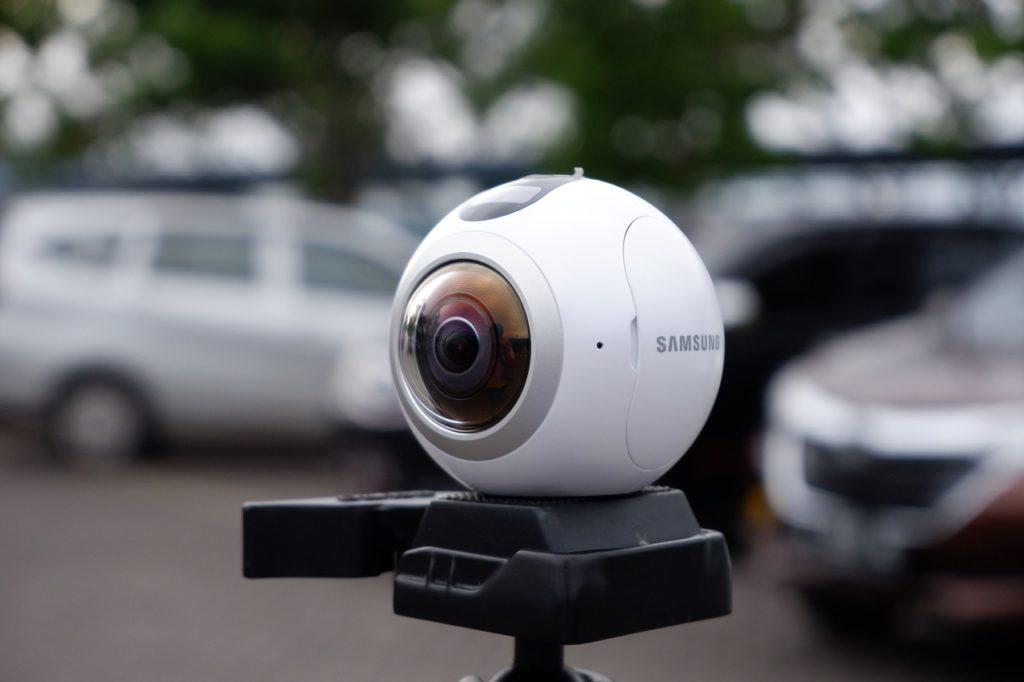 corretor - câmera 360°