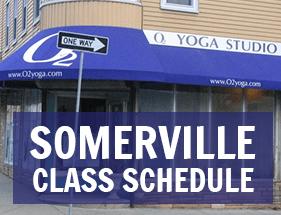 Class Schedule O2 Yoga