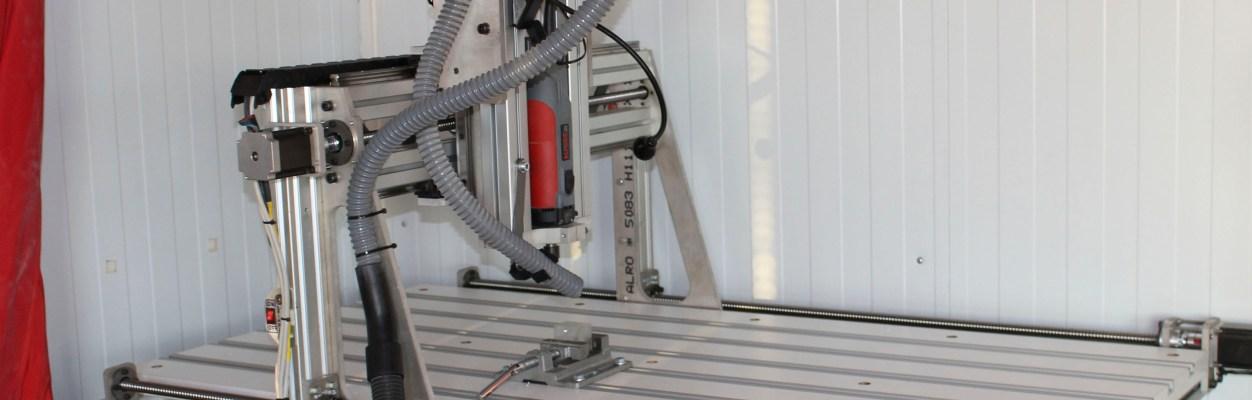 CNC de Aluminio